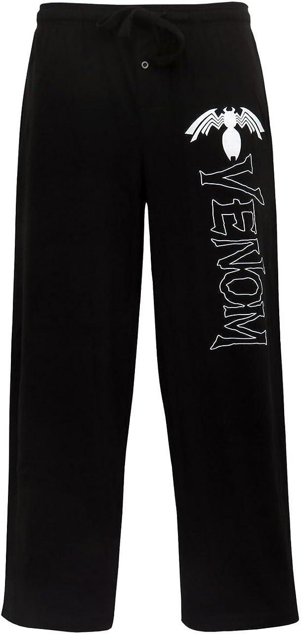 SuperHeroStuff Venom Milwaukee Mall Comic Logo Men's 2021new shipping free shipping Pajama Pants