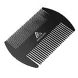 Stainless Steel Metal Hair&Beard Comb -...