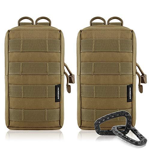 Airsson Molle Klein Tasche Taktische Gürtel Tasche Beutel Pouch Wanderausrüstung 1000D Nylon
