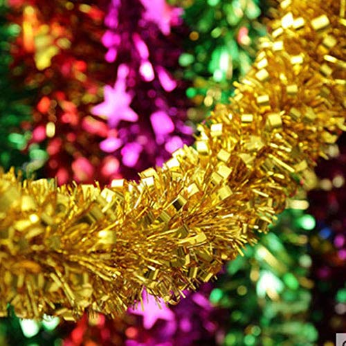 LLAAIT 5 STKS Bruiloft benodigdheden kinderen top nieuw jaar Kerstmis Garland lint slinger Verjaardag bruiloft kamer decoratie kerst klatergoud