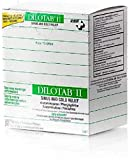 Dilotab II Allergy Sinus Cold Relief Refill Box 250 Tablets