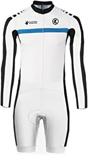 Uglyfrog Sports Wear Men's Breathable Summer Skinsuit Short Sleeve Cycling Kit with Gel Pad Outdoor Sports Wear Triathon Clothing DLT04