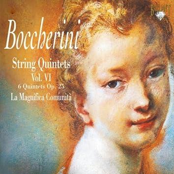 Boccherini: String Quintets, Vol. 6