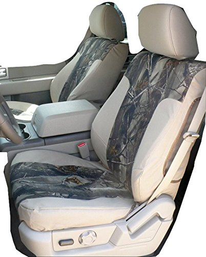 Durafit Seat Covers Made to fit 2010-2013, F150 Pickup Pair of Front Bucket Seat...