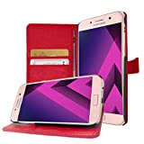Buyus Coque Samsung Galaxy A3 2017, Housse Portefeuille avec Support Video Galaxy A3 (2017) A320...