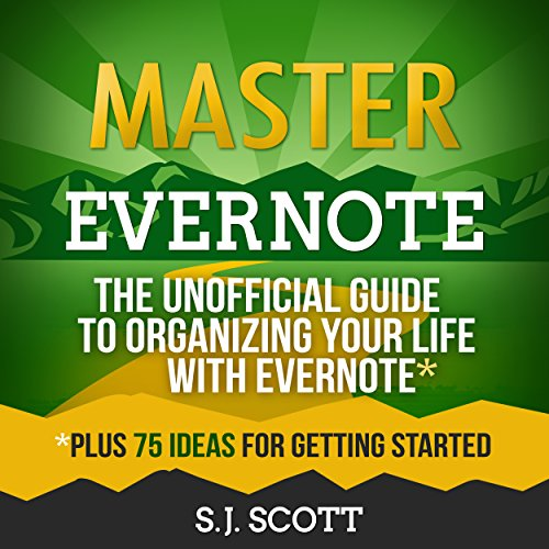 Master Evernote audiobook cover art