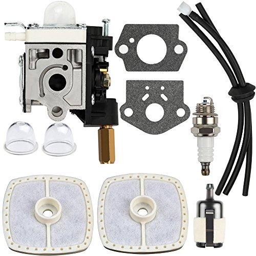 Dalom SRM 230 Carburetor w Air Filter Primer Bulb for Echo Trimmer SRM230 SRM231 GT230 GT231 PE230 PE231 PAS230 PAS231 PPT230 PPT231 Weed Eater Parts