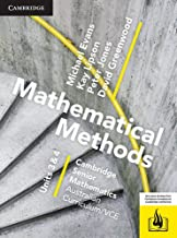 CSM VCE Mathematical Methods Units 3 and 4