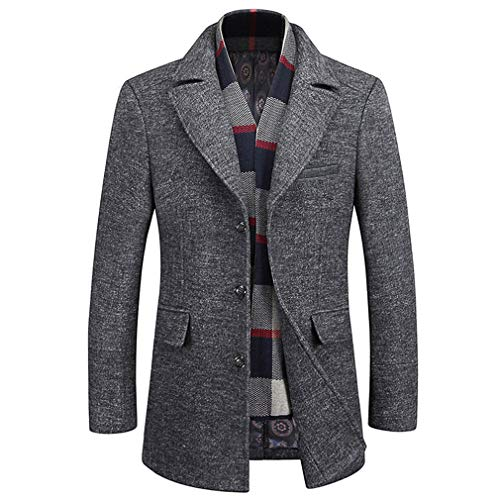 Express Peacoat Mens