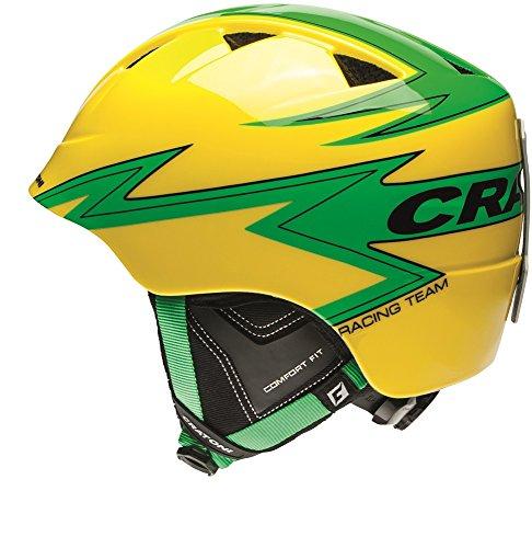 Cratoni Helmets 12015114 - Skihelm Boogie Kinder/Jugend 2270 yello Gr. S/M