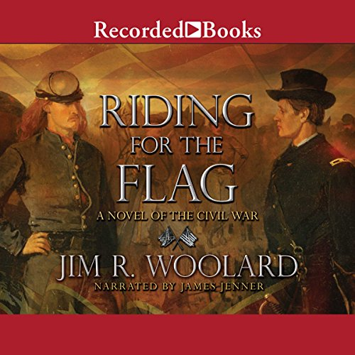 Riding for the Flag audiobook cover art