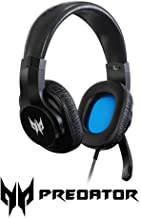Acer Predator Galea 310 True Harmony Sound Gaming Headset: 40mm Drivers - Rotatable Omni-Directional Mic - Black, One Size...