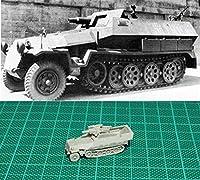 ◆1/144 レジンキット B071 WWII German Sdkfz251/9 75 mm L/24 gun