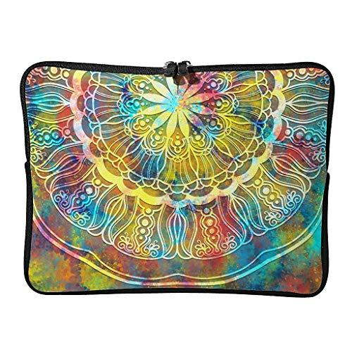 5 Sizes Magic Bisque Laptop Bags Cute Scratch Resistant Bohemian Romantic Tablet Briefcase Suitable for Commuter