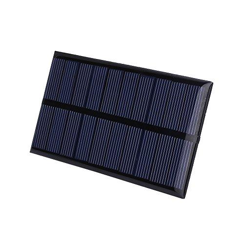Cewaal Haihuic 5V 1W Mini Portátil Batería de la energía del silicio de Sunpower de DIY Panel de epoxi Solar de polisilicio