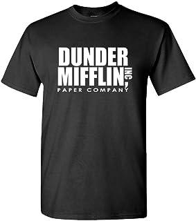 The Office TV Show Dunder Mifflin Paper Men's Royal Blue T-Shirt