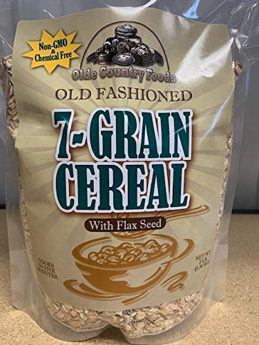 Old Fashioned 7 Grain Cereal with Flax Seed (3 Pound Bag) by Wheat Montana Non-GMO, Chemical Free