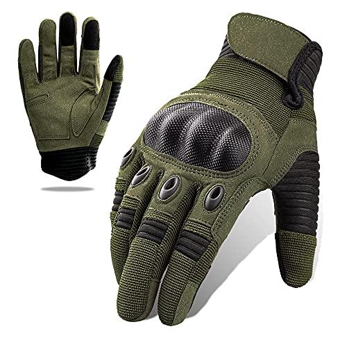 Tactical Gloves, Full Finger Touchscreen...