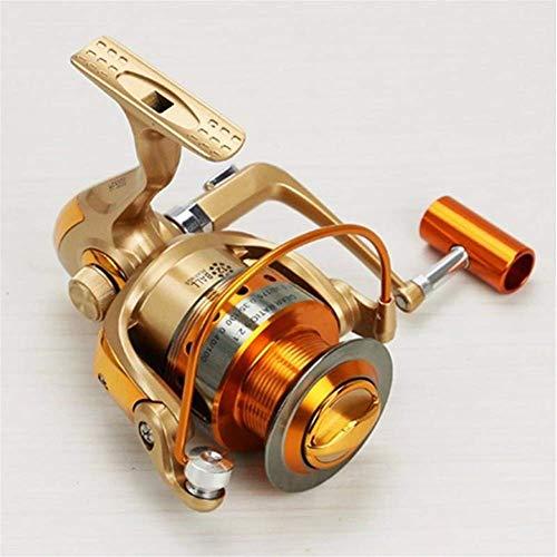 YGB Mini caña de Pescar Polo Gold Reel Penal Aire Libre Accesorios de Pesca 10BB Gear Spinning Spool Fishing Reel Sports and Outdoor