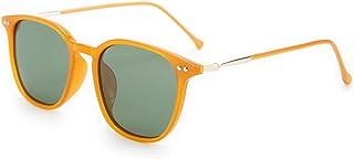 Karsaer Retro Polarized Sunglasses for Women Men Square Lightweight Frame