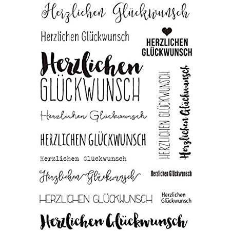 Deutscher///transparenter klarer Silikonstempel//Siegel f/ür DIY Scrapbooking//Fotoalbum Dekorative klare Stempel A331