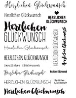 ドイツの透明クリアシリコンスタンプ/DIYスクラップブッキング用シール/フォトアルバム装飾クリアスタンプG016
