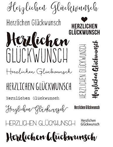 Deutscher transparenter klarer Silikonstempel/Siegel für DIY Scrapbooking/Fotoalbum Dekorative klare Stempel G016