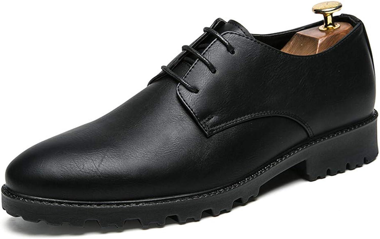 Herren Business Business Business Oxford Casual Einfache Klassische Britischen Stil Formelle Schuhe,Grille Schuhe  4a899b