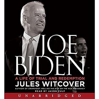 Joe Biden audiobook cover art