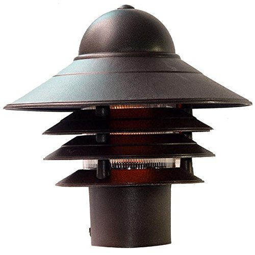 Acclaim 87ABZ Mariner Collection 1-Light Post Mount Outdoor Light Fixture, Architectural Bronze