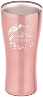 [名入れショップ Happy Gift]真空ステンレスタンブラー 420ml 3C ピンク