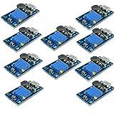 DiyStudio 10個 2A MT3608 DC-DC 2A Boost 2A DC-DC ブーストステップアップ 転換モジュール Micro USB 2V-24V to 5V-28V 9V 12V 24V