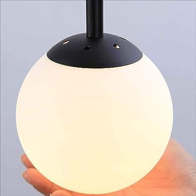 XRFHZT Nordic Lighting Restaurant Bar Molekulare leichte Glas-Magie magische Bohnenlampe kreative Persönlichkeit Beleuchtung,A
