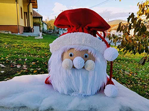 Santa Dallas Mall Claus Year-end annual account Gift Bags Christm Christmas for Children