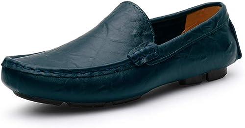 JUJIANFU-chaussures , Mocassins Mocassins pour Homme