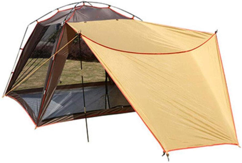 JBHURF 2-3 Personen Campingzelt Backpacking Zelt Automatisches Instant Pop Up Up Up Zelt Outdoor Sports (Farbe   Kaffee) B07L51Q6GB  Bestätigungsfeedback 97120b