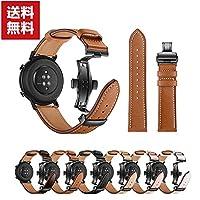 Huawei Watch GT GT 2 42mm 46mm ウェアラブル端末・スマートウォッチ 交換 バンド オシャレな 高級PUレザー 本革調レザースポーツ ベルト 便利 実用 人気 おしゃれ 便利性の高い 交換ベルト
