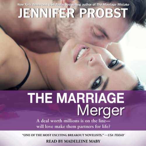 The Marriage Merger audiobook cover art