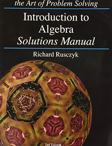 Introduction to Algebra Solutions Manual