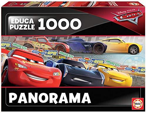 Educa Borras Puzzle Cars Panorama 1000 Piezas (17997) , color/modelo surtido