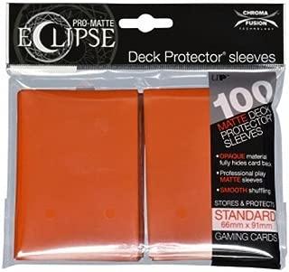 Ultra Pro UPR85607 Eclipse Standard Matte Card Sleeves