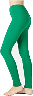 Zenana Outfitters JKC USA Selected Premium Cotton Full Length Solid Color Leggings Various Colors OP-1851
