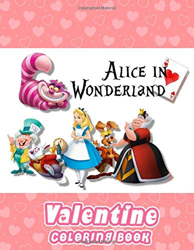 Alice in Wonderland Coloring Book: Great Quality Coloring...