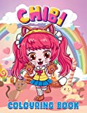 Chibi Colouring Book: A Collection of Unbelievably Cute, Relaxing & Adorable Chibi Colouring Pages For Kids, Teens and Adults | Kawaii Colouring Book ('Chibi Colouring Books' Serie by Alison Corbyn)