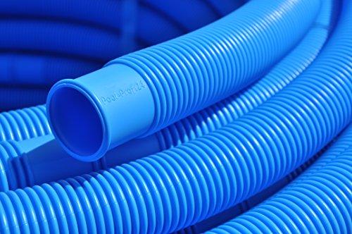 Schwimmbecken & Pool Schlauch 38 mm blau