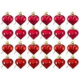 Coospy 24 piezas Juego de Bolas de Corazón,Bola de Amor de