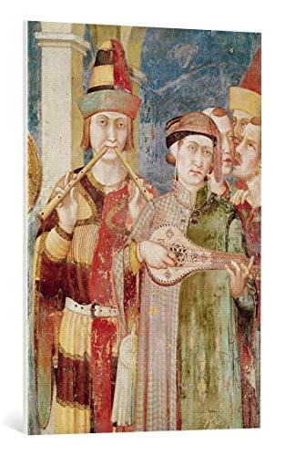 Kunst für Alle Cuadro en Lienzo: Simone Martini Detail of Musicians from...