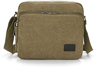 Casual Canvas Men Small Shoulder Bag Satchel Vintage Retro Crossbody Sling Bag For Men Leisure Male Messenger Bags Handba...