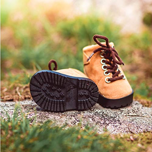 """The Queen's Treasures 18"""" Doll Shoes Clothing Accessory for American Girl , Hiking Boot & Adorable Shoe Box"""
