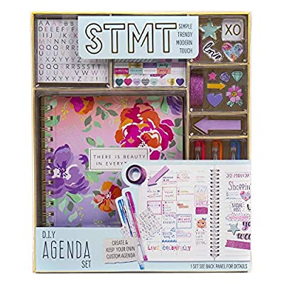 STMT Social Stationery by Horizon Group USA, Wooden Stamps, Stamp Pad, Cards, Envelopes, Brush Markers, Hand Lettering, Bullet Journaling, Scrapbooking by